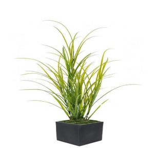 Graminee Herbe des champs factice H 100 cm L 45 cm PVC Outdoor dans un pot