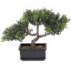 Bonsai factice Arbre a The H 23 cm 98 feuilles
